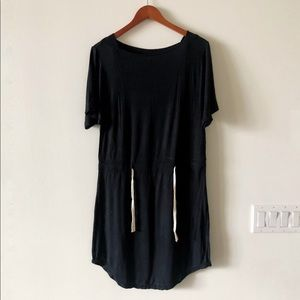 Madewell Hi-Line soft jersey dress